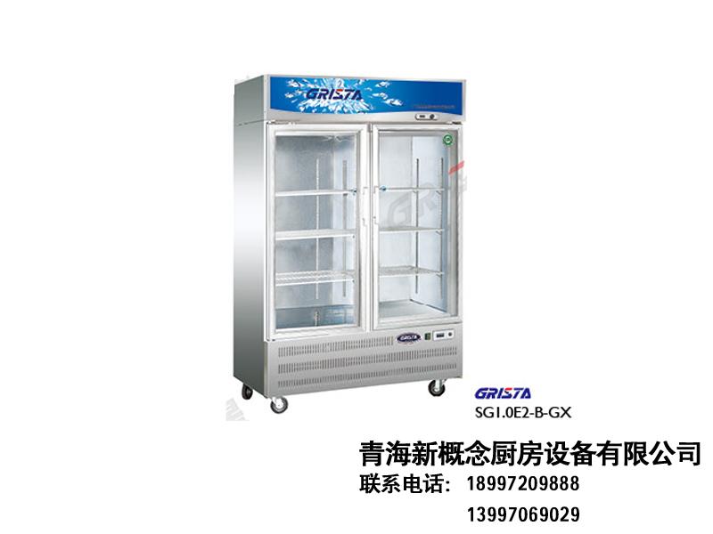 E系展示柜|直冷冷柜-青海新概念厨房设备有限公司
