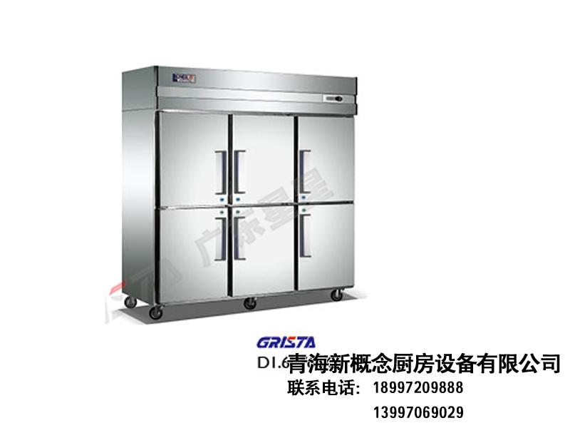 W款高身柜 直冷冷柜-青海新概念厨房设备有限公司
