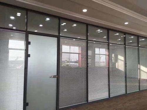单玻|办公室单玻玻璃隔墙-西安耐格家具有限责任公司