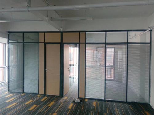 双玻|办公室双玻玻璃隔墙-西安耐格家具有限责任公司
