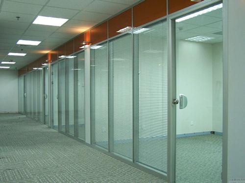 双玻隔墙 办公室双玻玻璃隔墙-西安耐格家具有限责任公司