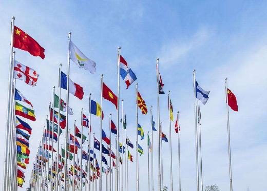 联合国旗杆