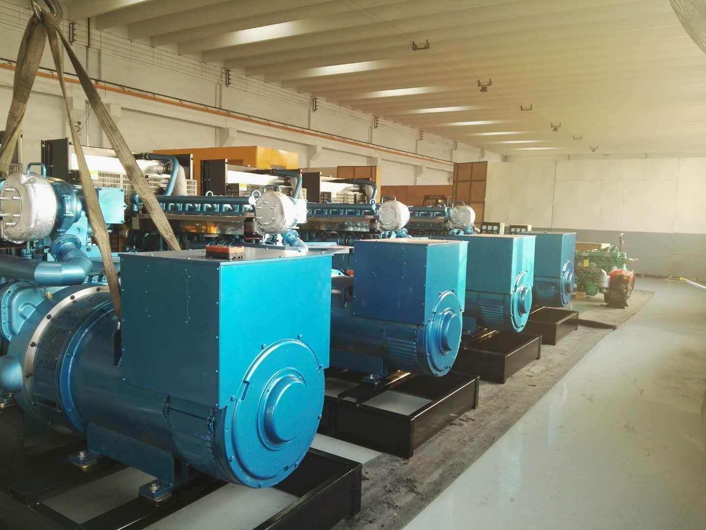 4台潍柴发电机组发往寿光客户|公司新闻-潍坊奔马动力设备有限公司