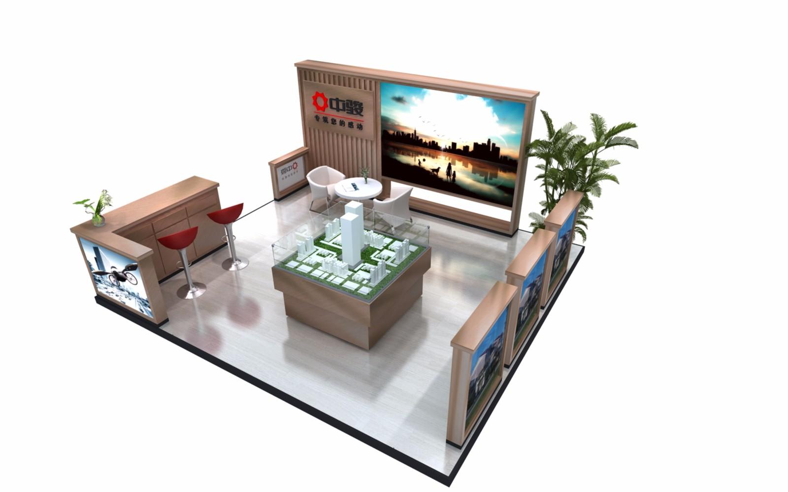 中駿|商場展臺-廈門市嘉維世紀會展服務有限公司