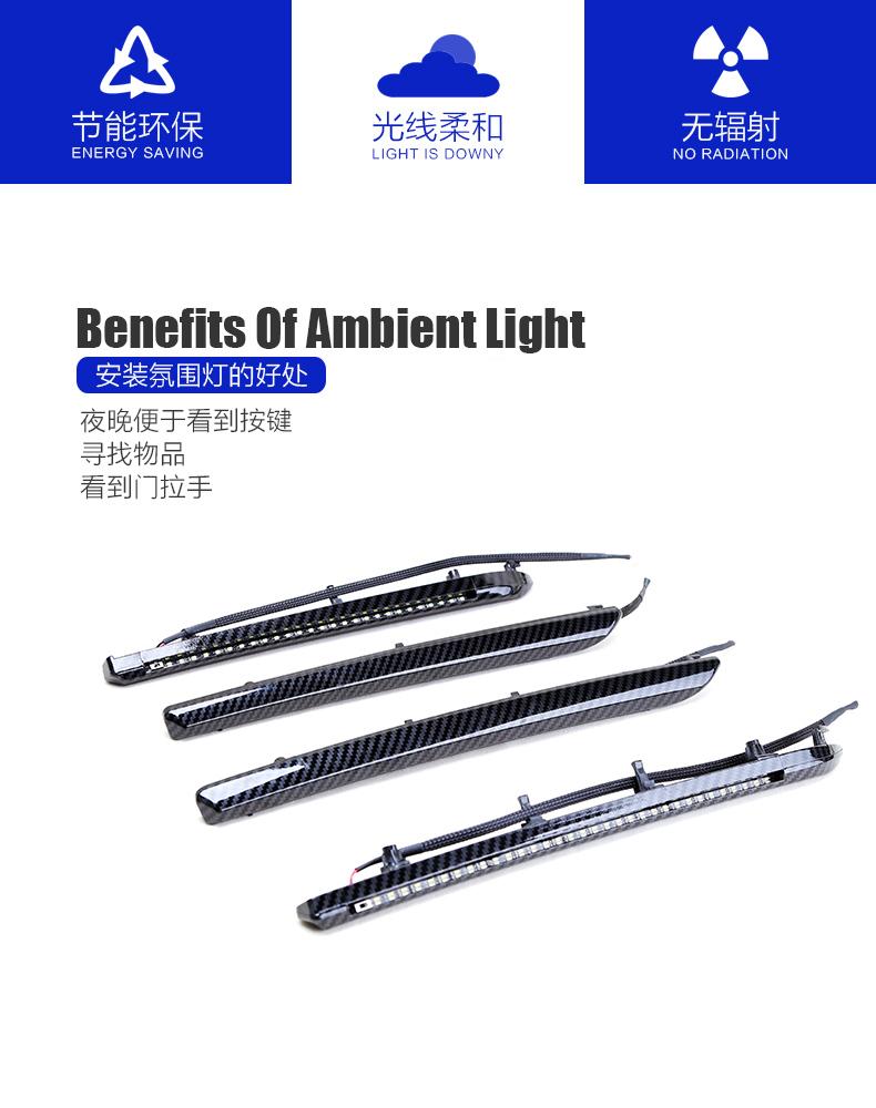 A3氛圍燈 A3-徐州鋼動汽車配件有限公司