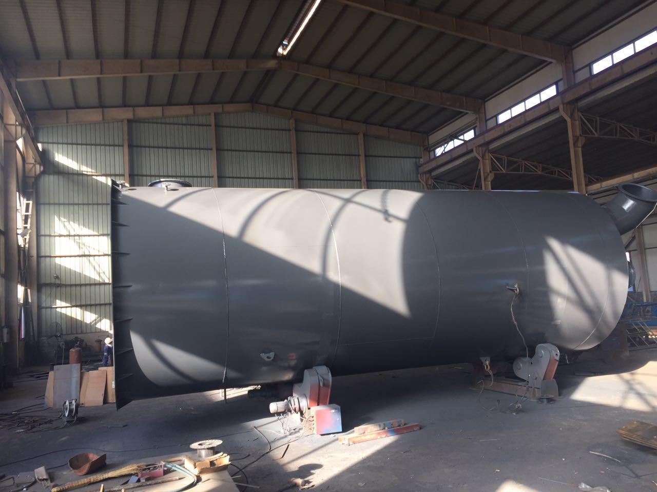 山西晋能焦化有限公司精脱硫项目设备发货|成功案例-唐山圣洁环保科技有限公司