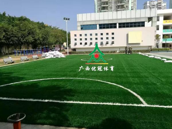 广西人造草坪施工