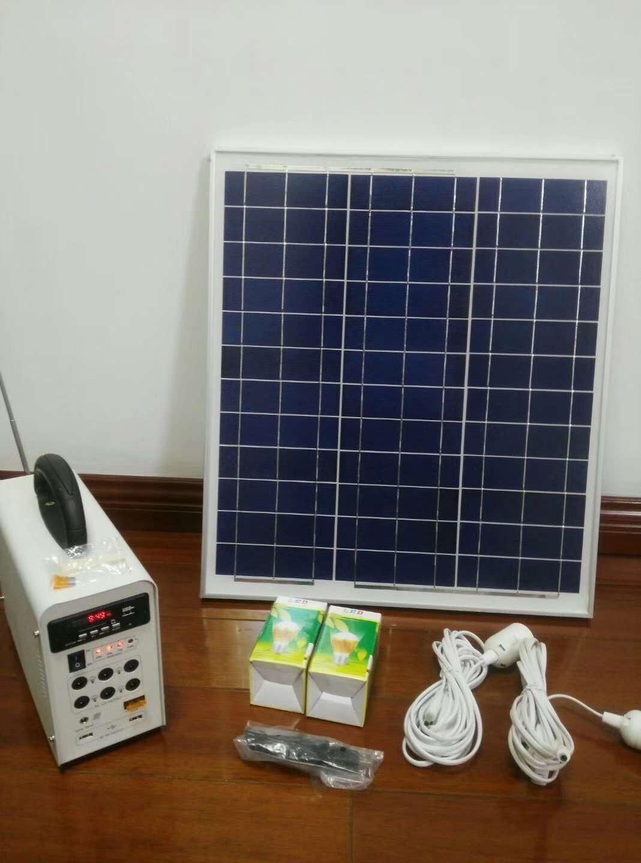 小型离网发电系统|光伏案例-广西南宁卓晟能新能源科技有限公司