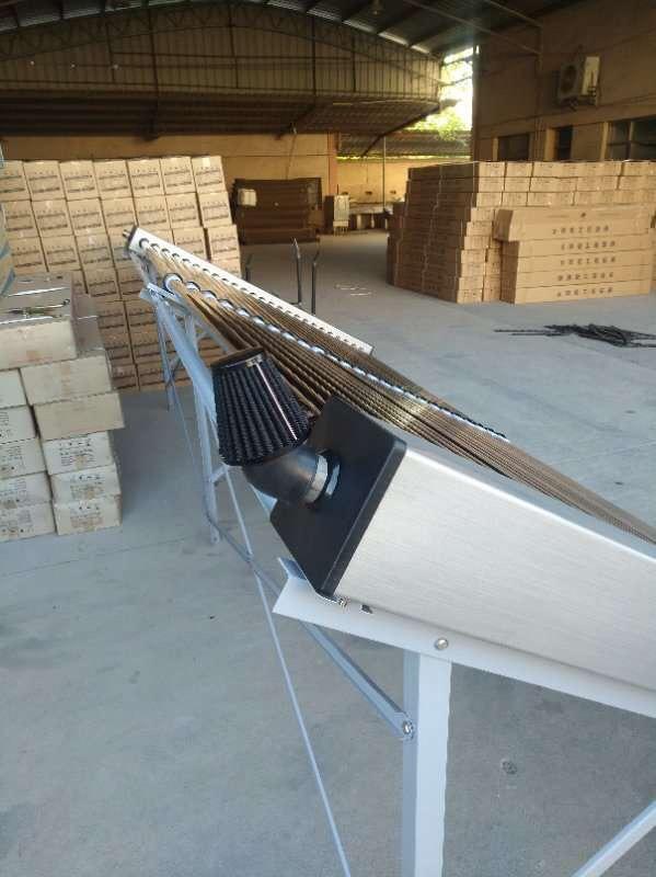 太阳能真空热风烘干|热水案例-广西南宁卓晟能新能源科技有限公司