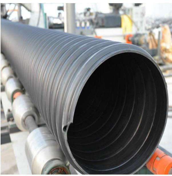 市政排污管大口径 hdpe聚乙烯钢带增强螺旋波纹管 生产厂家|HDPE钢带增强波纹管-淄博明品塑料科技75秒极速时时彩