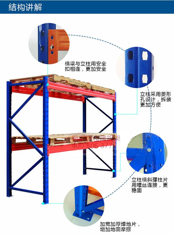 重型库房仓储货架|重力型货架-重庆市新百源金属制品有限公司