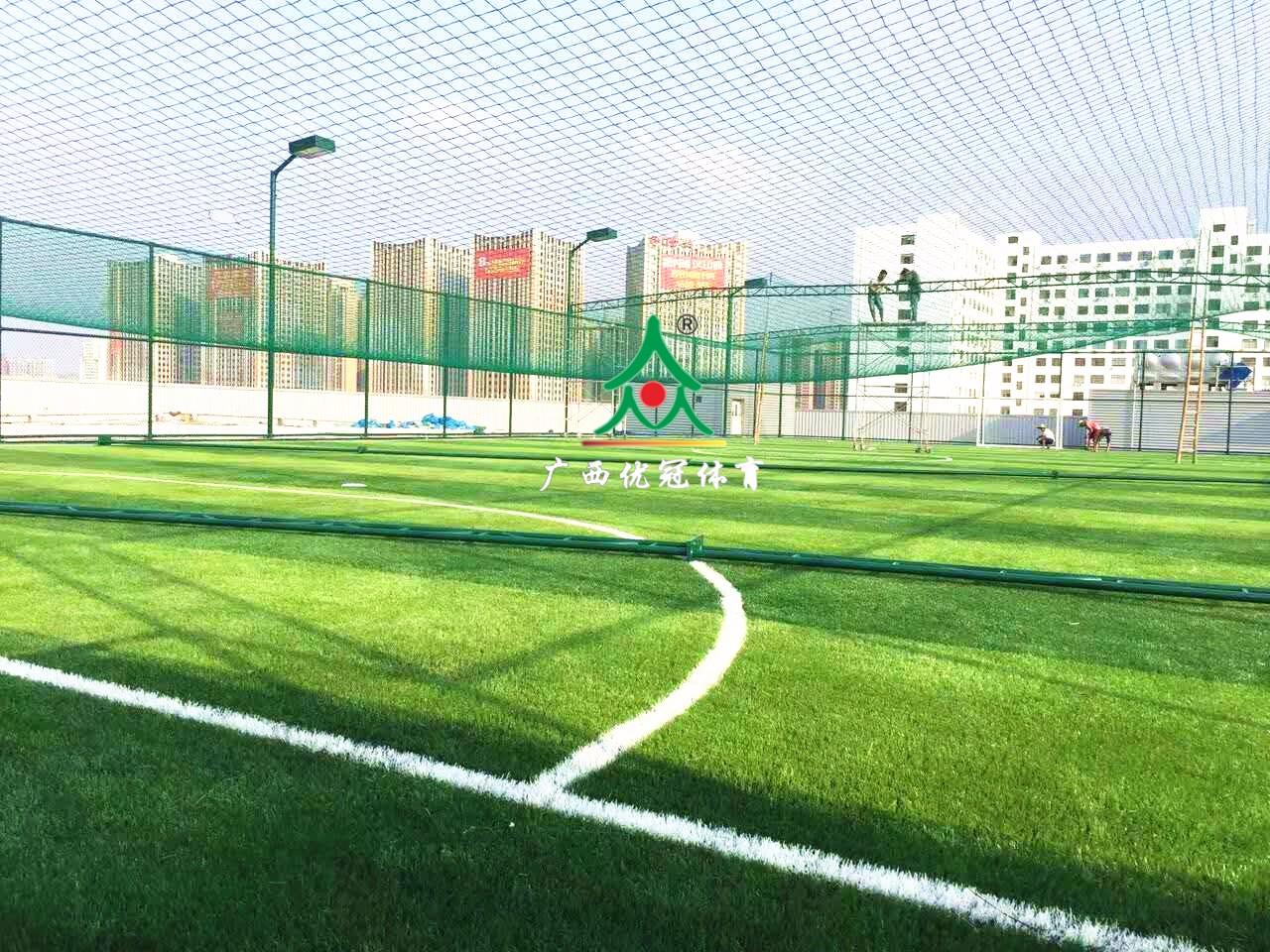广西足球场施工