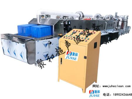 聚和超声波通过式胶框高压喷淋清洗设备