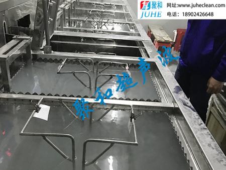 半自动慢拉多槽手动式超声波清洗干燥设备-聚和超声波
