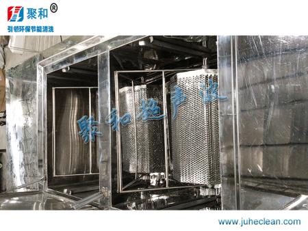 双槽滚筒式超声波清洗机-聚和超声波