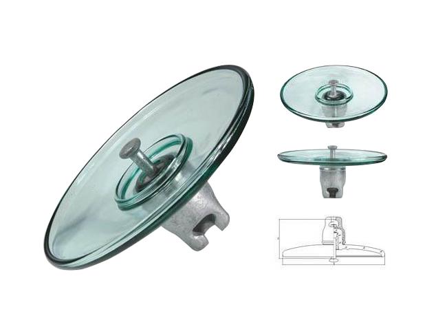 空气动力型盘形悬式玻璃绝缘子