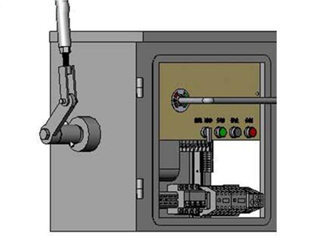 CX-6型电动机操作机构