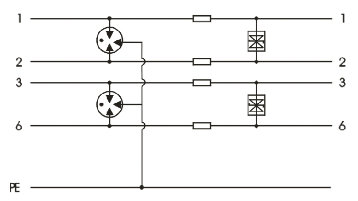 RJ45係列100M/1000M網絡信號浪湧保護器